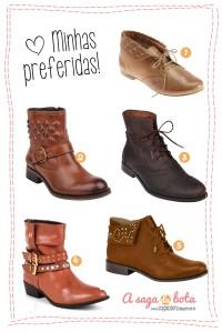 moda, liquidação, coturno, biker, marrom, bota, via mia, shoestock, carmen steffens, miezko
