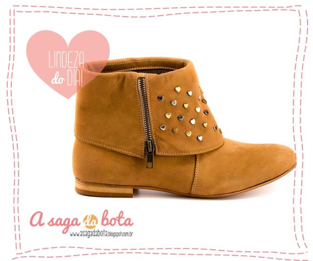 a saga da bota, inverno 2013, tachinhas, corações, confortável, romântico, cool, fashion, moda, tendência