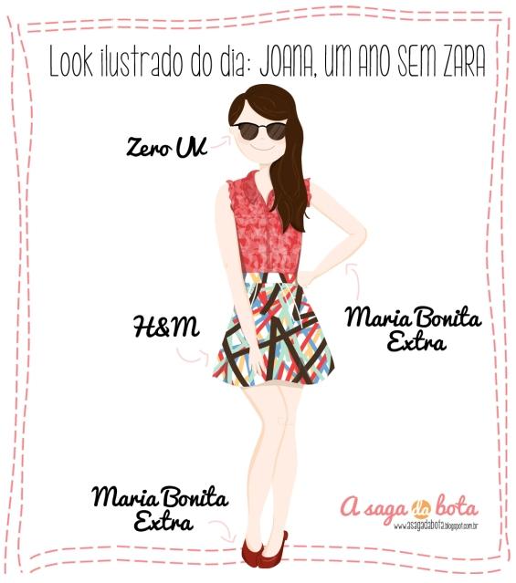 desenho, digital, maria bonita, H&M, Zero UV,  ilustradora Kênia Lopes