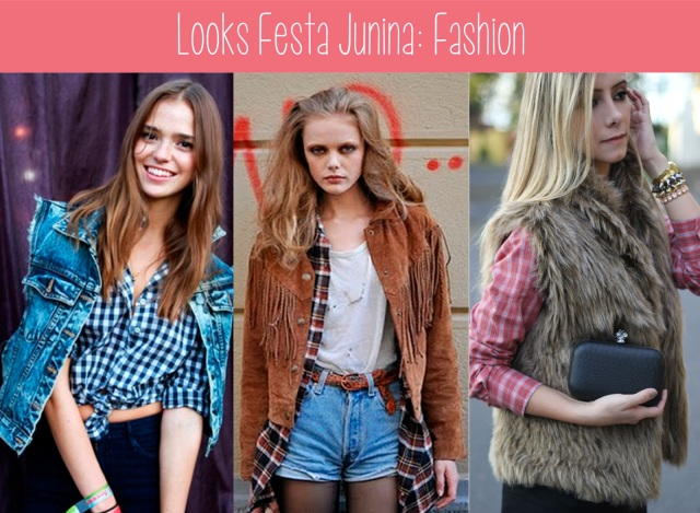 alternativo, bonito, moda, colete, jeans, franjas, pelos, xadrez, produção