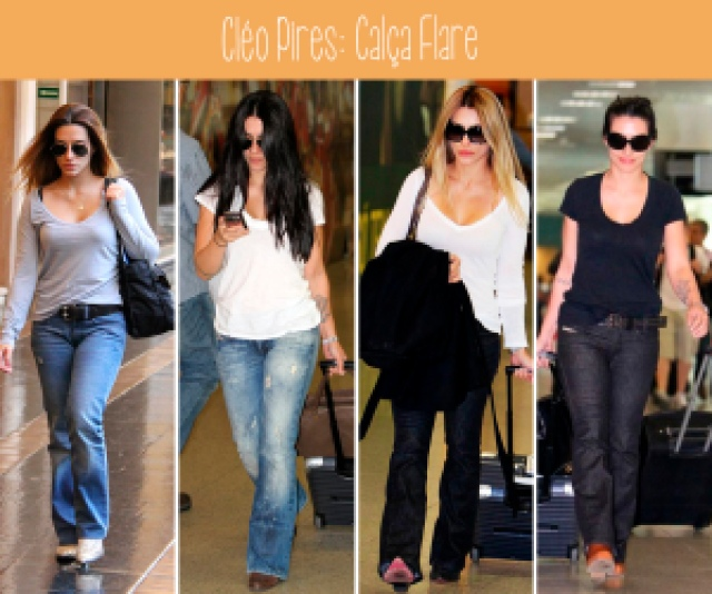 calça flare, jeans, alfaiataria, moda, linda, fashion, versátil, atriz, estilo