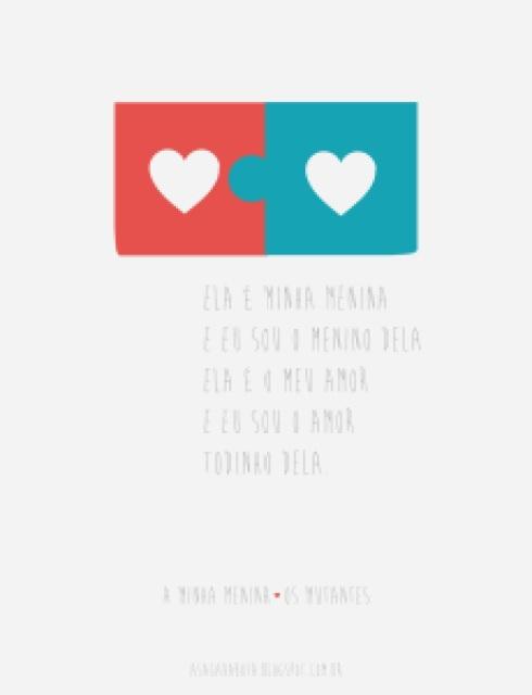 amor, dia dos namorados, fofo, quebra cabeça, coração, paixão, ilustração, Kênia Lopes