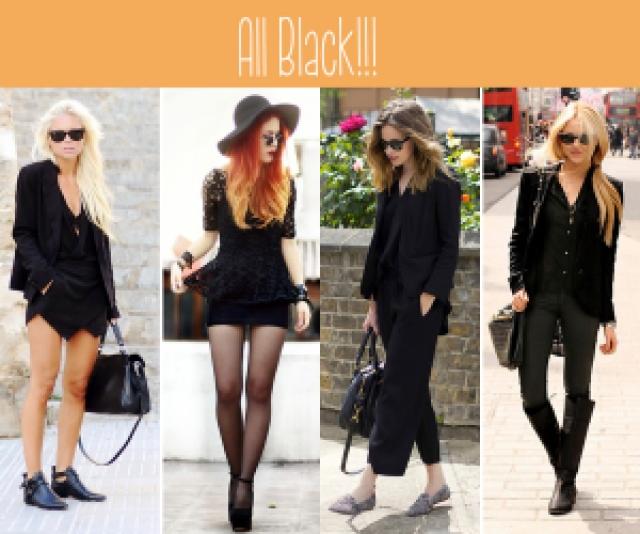 moda, inspiração, preto, monocromático, rock'n'rool,