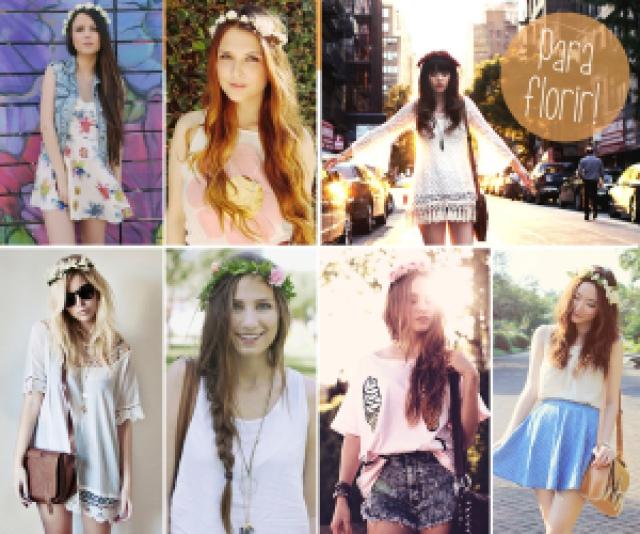 moda, acessório cabelo, headband, flower, tutorial, diy, primavera, fashion