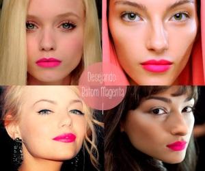 rosa, pink, rosa choque, verão, maquiagem, lindo, mac,