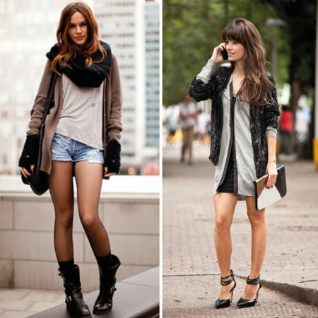 casual, estilo, chique, sofisticado, cinza, preto, salto, moderno, como usar