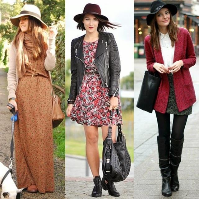 saia, vestidos longos, boho, casual, elegante, feminino, como usar chapéu, dicas