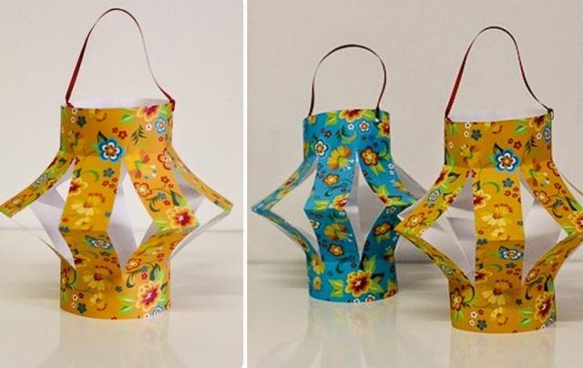 Passo a passo lanterna festa junina, decoração