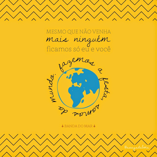 música ilustrada Mallu Magalhães, Marcelo Camelo, Música do dia: Mais Ninguém, Banda do Mar
