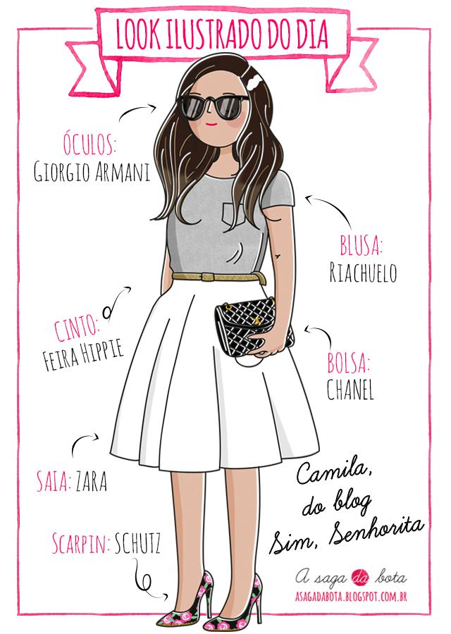 ilustração, ilustração personalizada, ilustradora Kênia Lopes, ilustração para blog