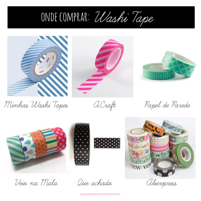 washi tape no brasil, washi tape barato