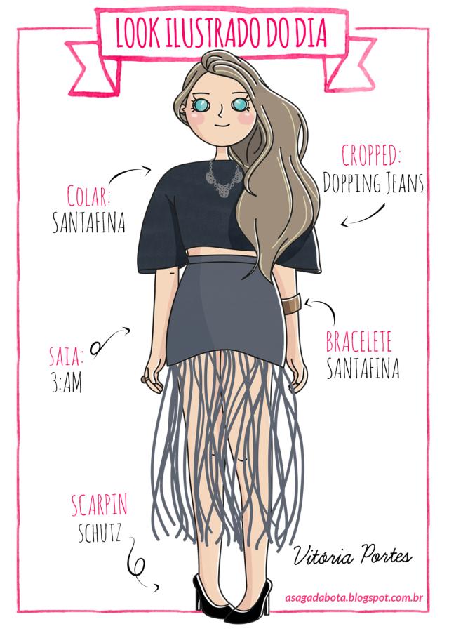 ilustração blogueira, blogueira ilustrada,desenho blog, ilustradora Kênia Lopes