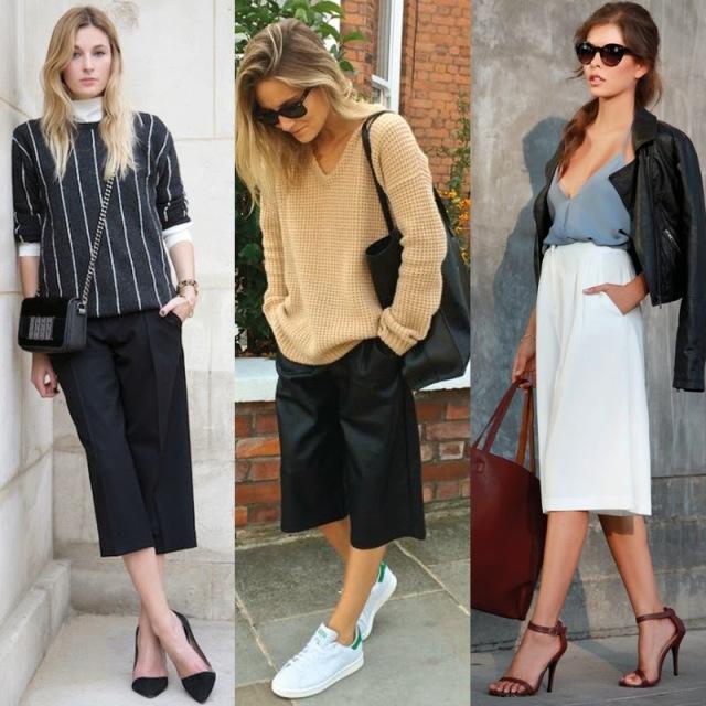 culottes, pantalona midi, calça midi, bermuda midi