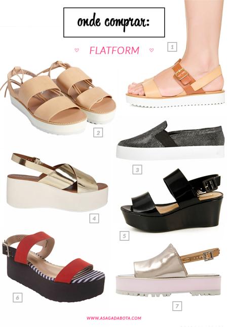 plataforma, flatform, sapato, estilo, farm, via mia, prata